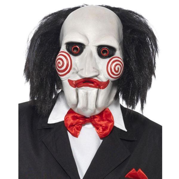 Official Jigsaw Billy Puppet Mask Movie Halloween