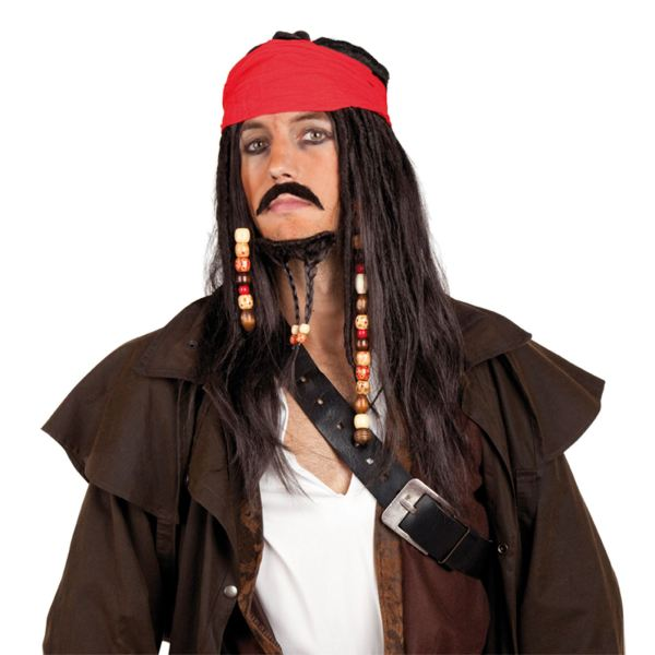 Pirates of the Caribbean Jack Sparrow Bandana