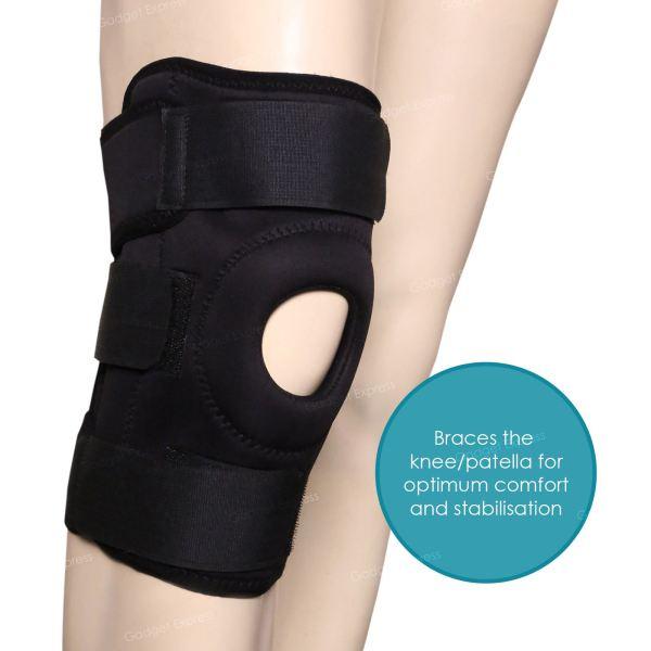 Adjustable Neoprene Knee Support Brace Open Patella