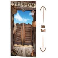 Western Saloon Doors Door Cover Decoration Cowboy Sign ...