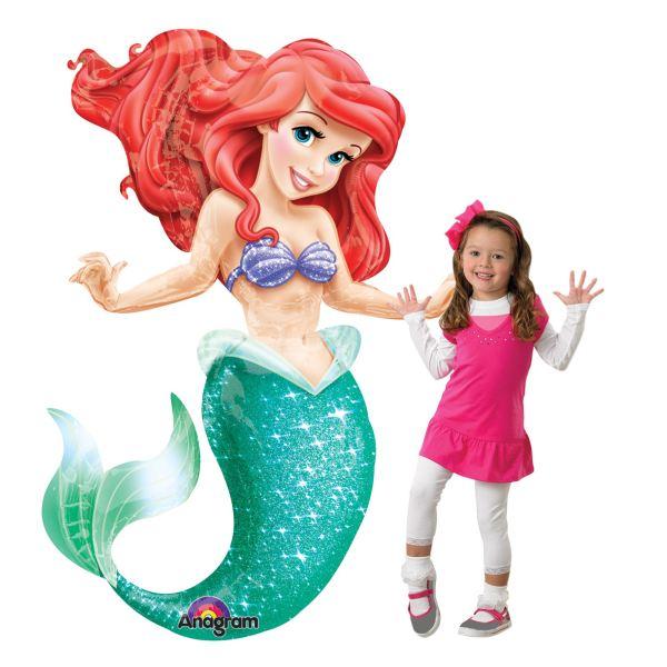 134cm Giant Ariel The Little Mermaid Disney Princess