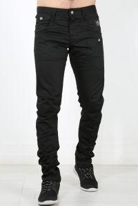 Cross Hatch Mens Trouser Back Strap Designer Jeans Pants ...