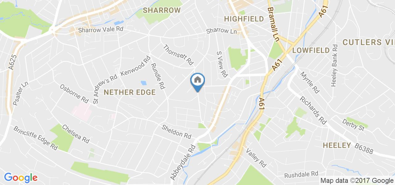 Sheffield 1 Bed Flat Wostenholm Road S7 To Rent Now