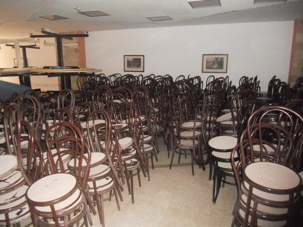 Lotto Sedie e tavoli per ristorante