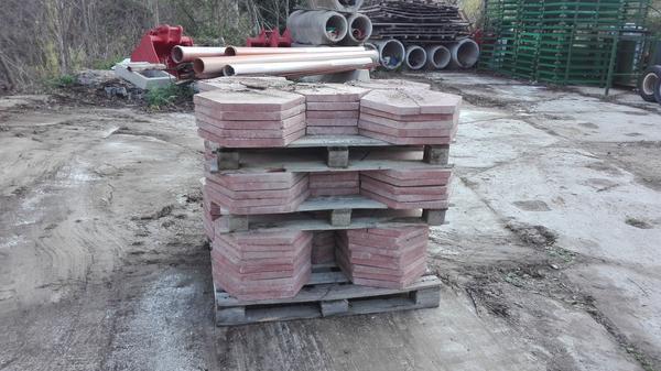 Lotto Piastrelle in cemento da giardino