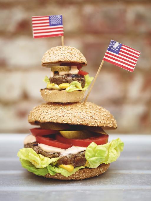 hamburguesas y deslizantes