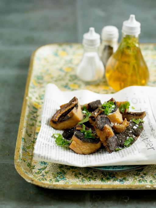 Recette Fish And Chips Jamie Oliver : recette, chips, jamie, oliver, Fried, Mushrooms, Vegetables, Recipes, Jamie, Oliver