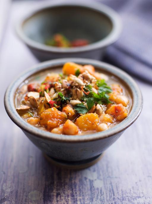 chickpea soup vegetables recipes jamie oliver