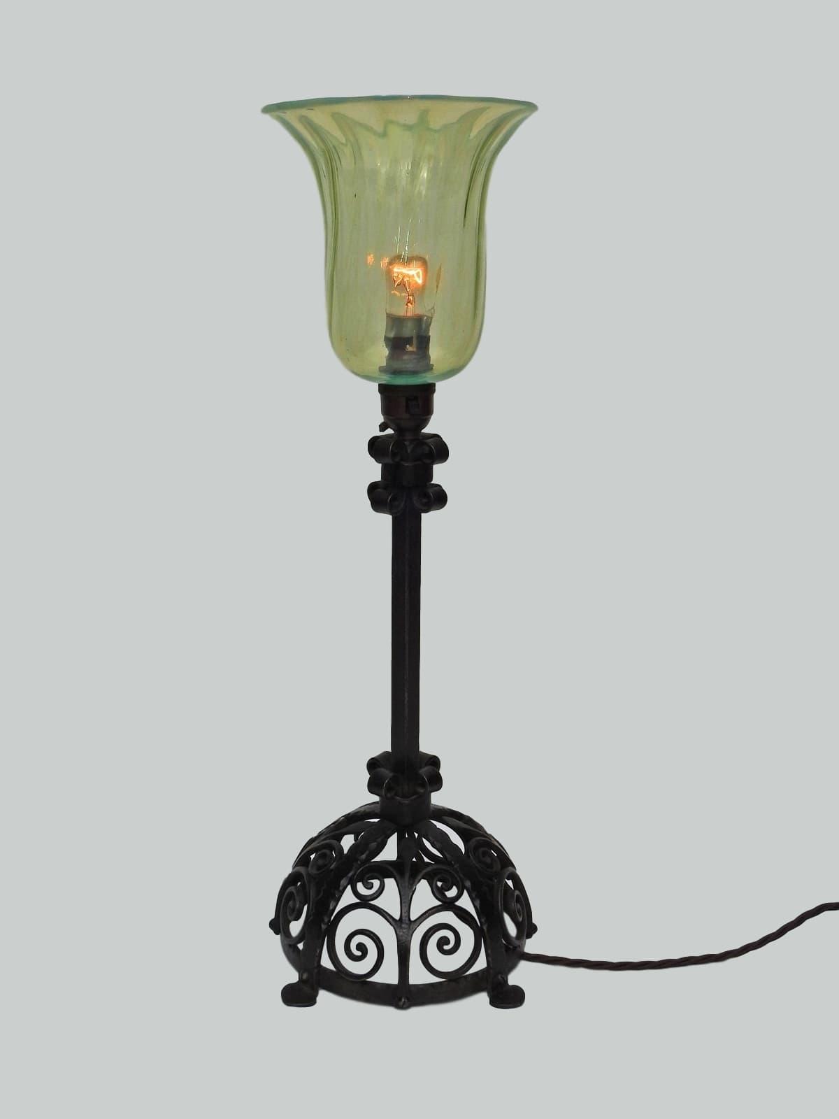 A Stylish Arts U0026 Crafts Table Lamps, English C1905