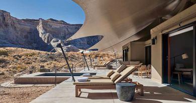 Отдых в новом роскошном лагере в пустыне Юты