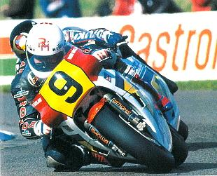Rocket Ron Haslam, motorcycle racer