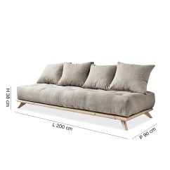 Zanotta Sofa Bed The Most Expensive In World Senza – Natural By Karup | Lovethesign
