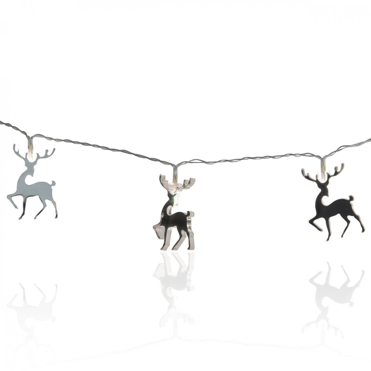 Mirror Reindeer Christmas Lights By Star Trading