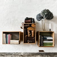 SJ Floating Shelf Bookcase by We do wood | LOVEThESIGN