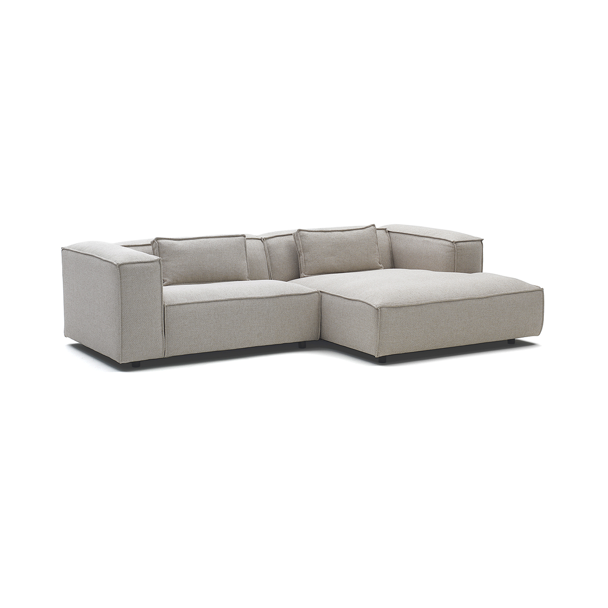 fest amsterdam sofa dunbar best value sofas polvere three seater with chaise longue l 164 cm by lovethesign