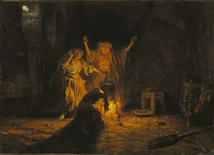 The Witches in Macbeth by AlexandreGabriel Decamps at The