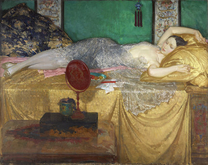 Silver and Gold by Sir William Russell Flint at Birmingham