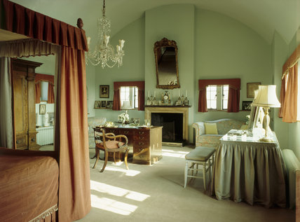 View of Lady Churchills Bedroom at Chartwell Chartwell
