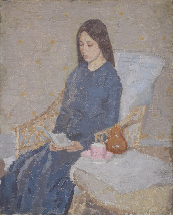 The Convalescent, by Gwen John