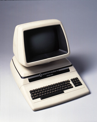 Commodore Pet personal computer c 1980 at Science and