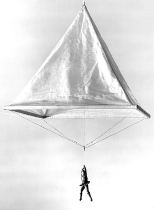 Model of a Leonardo da Vinci parachute 14701520 at