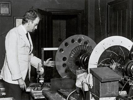 John Logie Baird Scottish television pioneer 1926 at