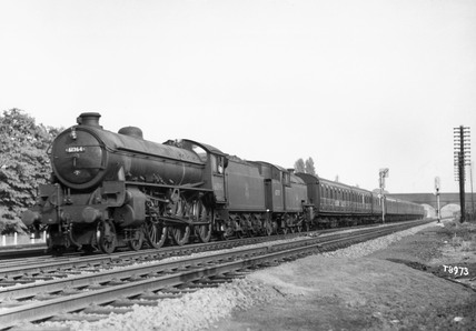 London  North Eastern Railway B1 Class 460 steam