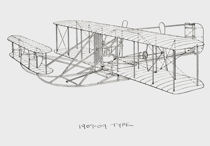 Wright aircraft of 1907-1909 type, 1909. at Science and