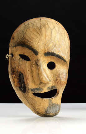 Inuit spirit mask Alaska at Science and Society Picture