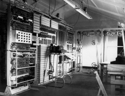 The Colossus mark II computer Bletchley Park 1943 at