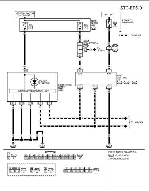 small resolution of electric power steering wiring diagram