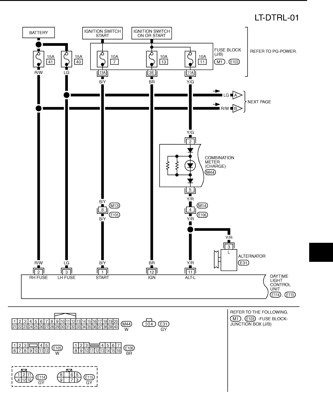 2006 nissan x trail wiring diagram 2004 audi a4 engine xtrail t30 workshop manual 26 pdf
