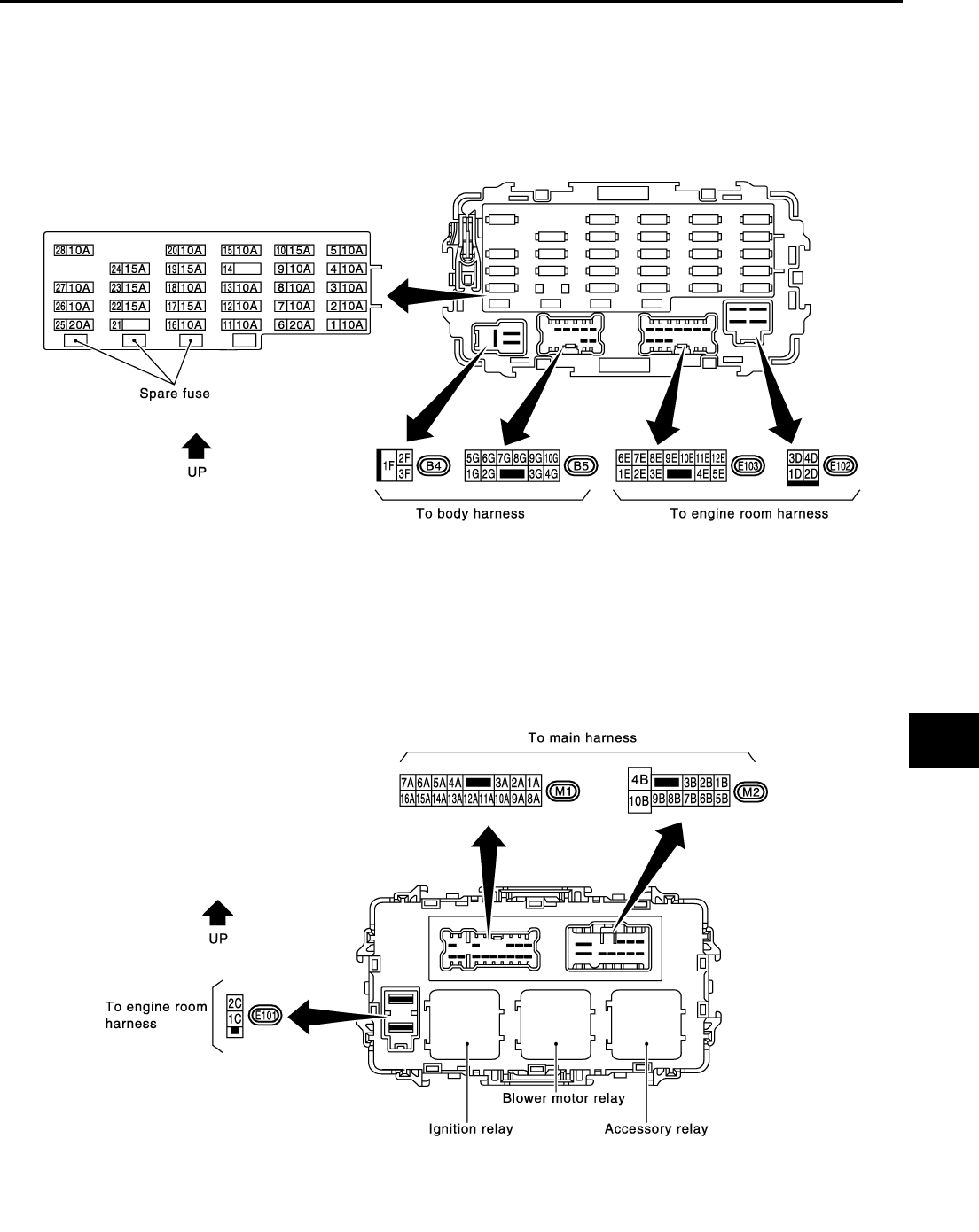 hight resolution of need fuse box and relay diagram for nissan altima