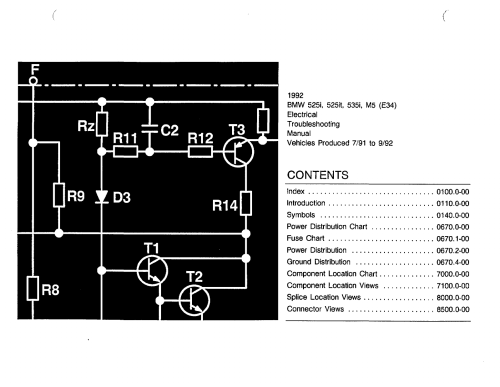 small resolution of 1992 bmw 525i fuse diagram