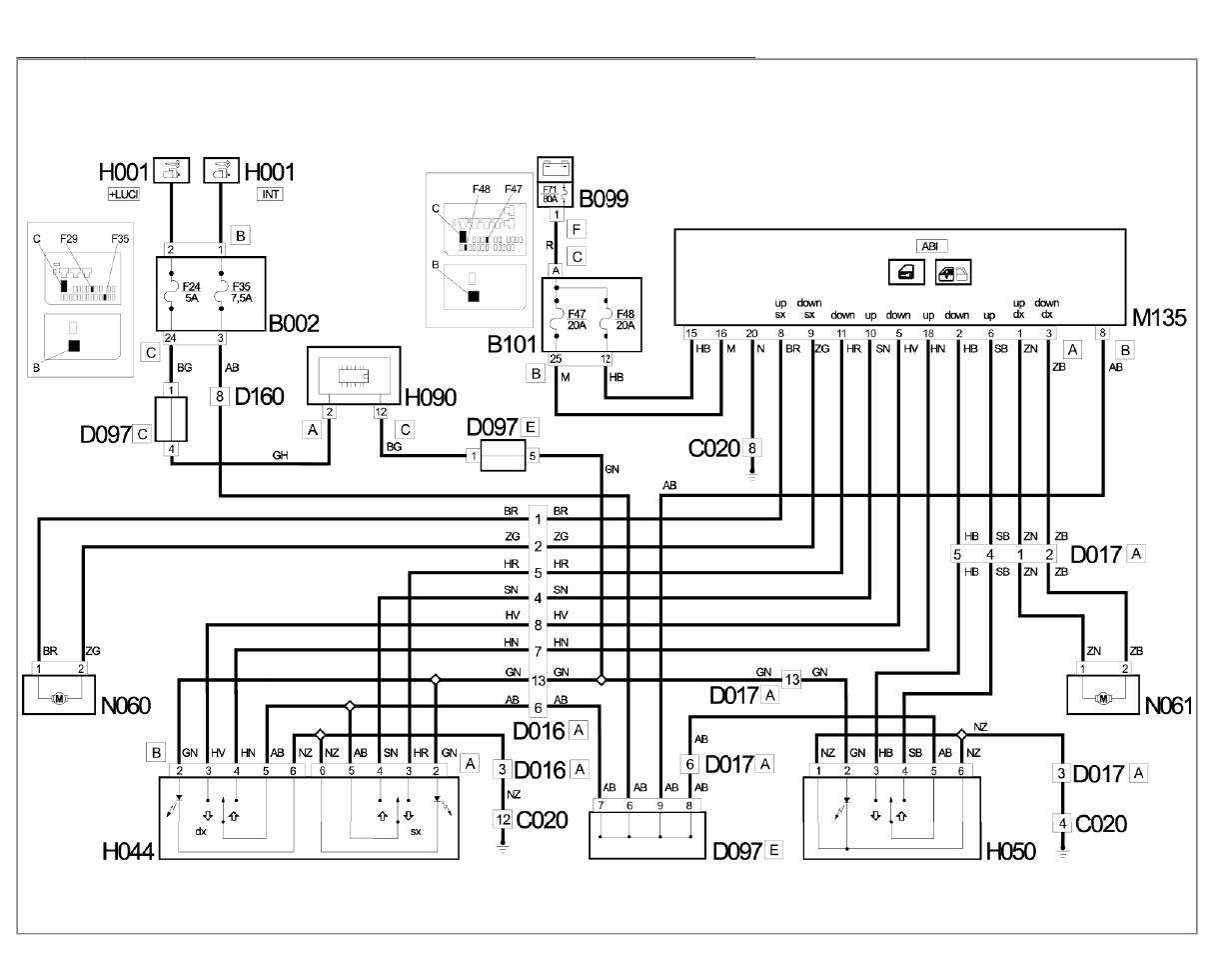 Fiat Ducato Misc Documents Electrical Diagram