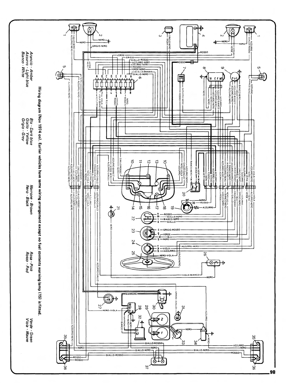 Fiat Generator Wiring Diagram. Fiat. Auto Parts Catalog