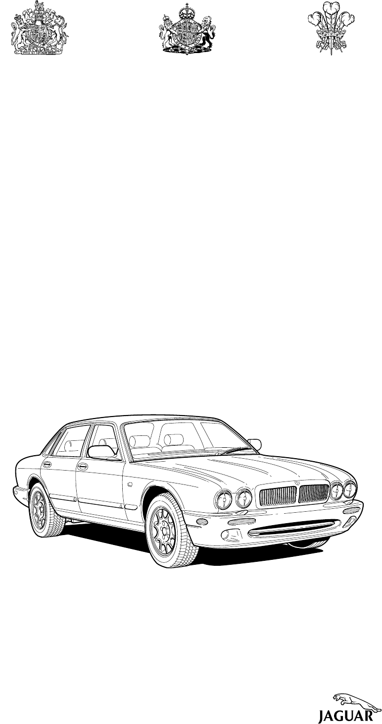 Jaguar XJ 2000 Workshop Manual Electrical Guide PDF
