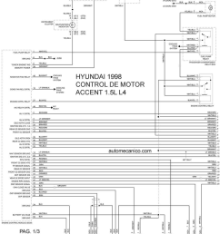 hyundai accent 1998 misc document wiring diagram pdf 1998 hyundai excel radio wiring diagram hyundai excel wiring diagram 1998 [ 1191 x 1458 Pixel ]