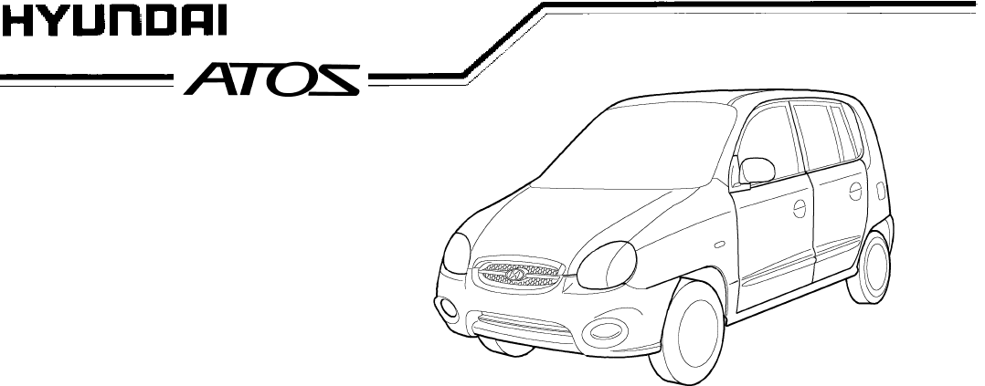 Hyundai Atos Owners Manual PDF