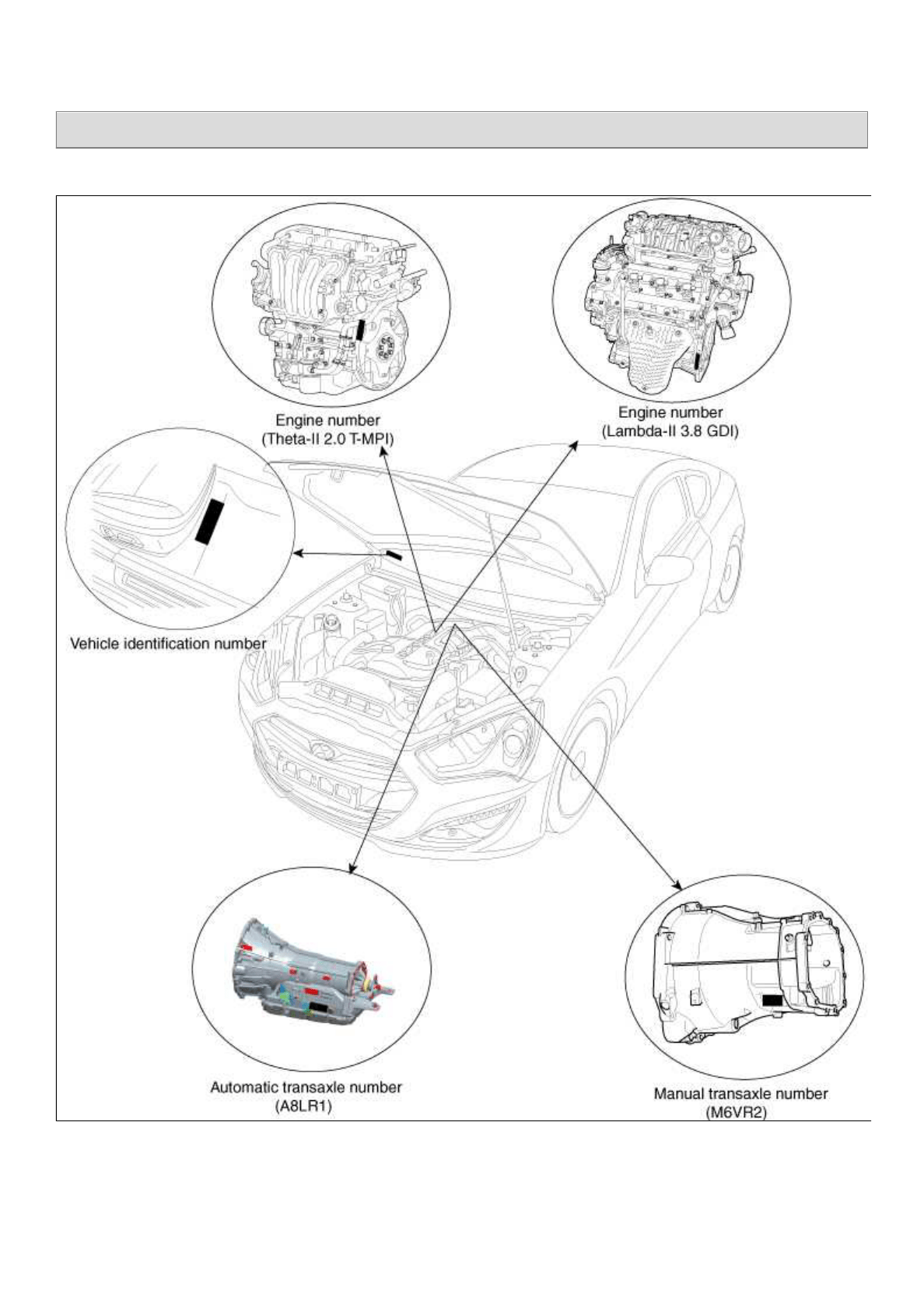 Hyundai Genesis 2013 Workshop Manual 3.8 GDI PDF