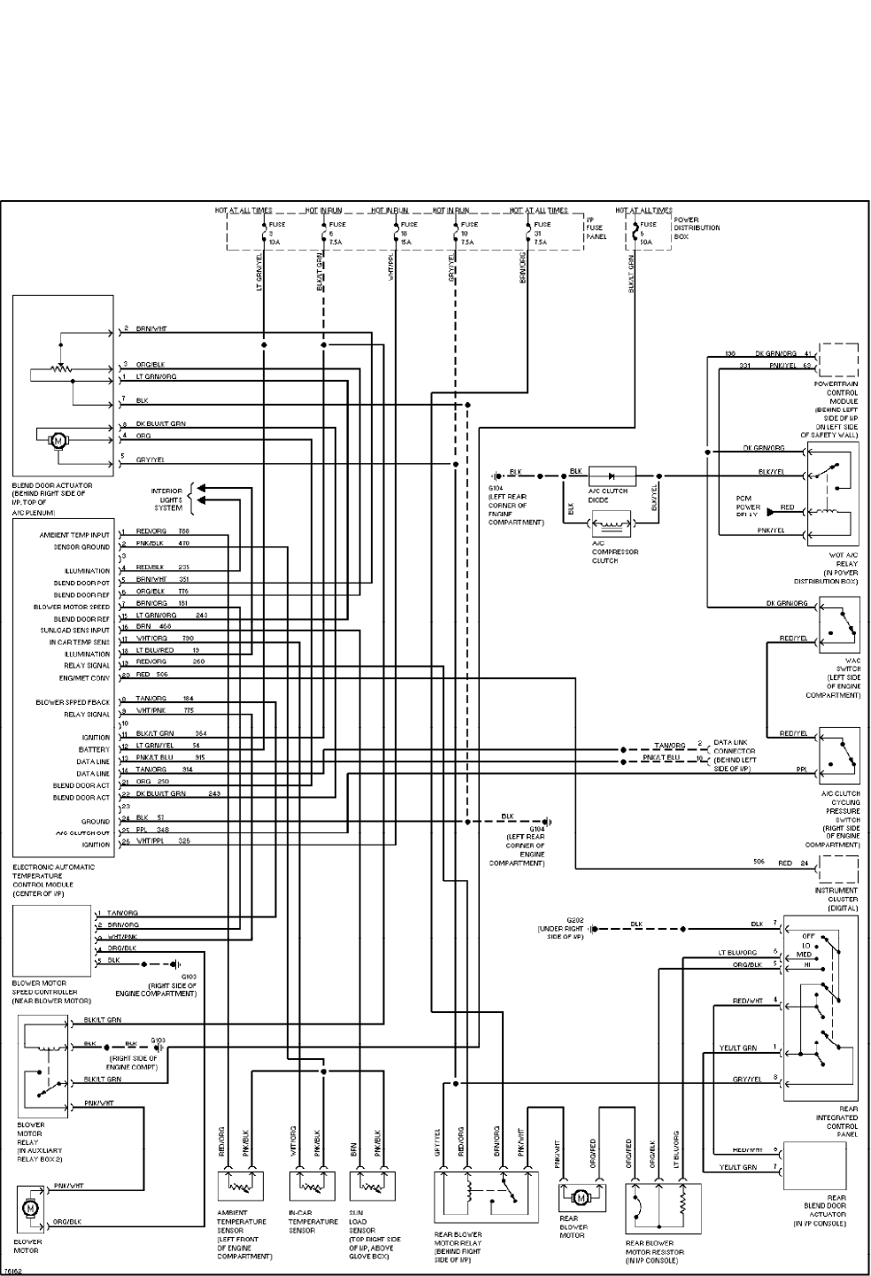 hight resolution of page 1 ford explorer 1996 misc document system wiring diagram pdf1996 explorer wiring diagram 11