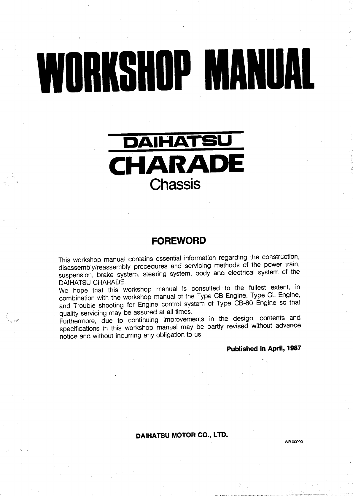 hight resolution of see our other daihatsu cuore manuals