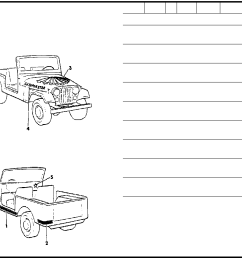 2006 jeep cherokee 1984 1986 misc doents parts catalogue pdf on jeep cj7 engine wiring harness diagram  [ 2244 x 1410 Pixel ]