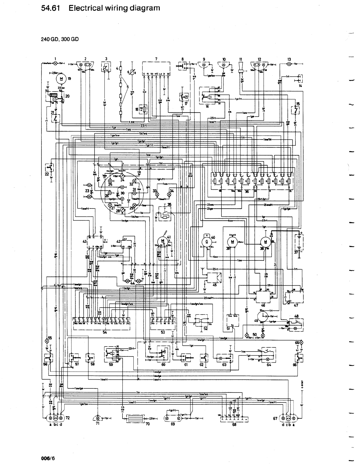 Mercedes G 300 Misc Documents Wiring Diagrams