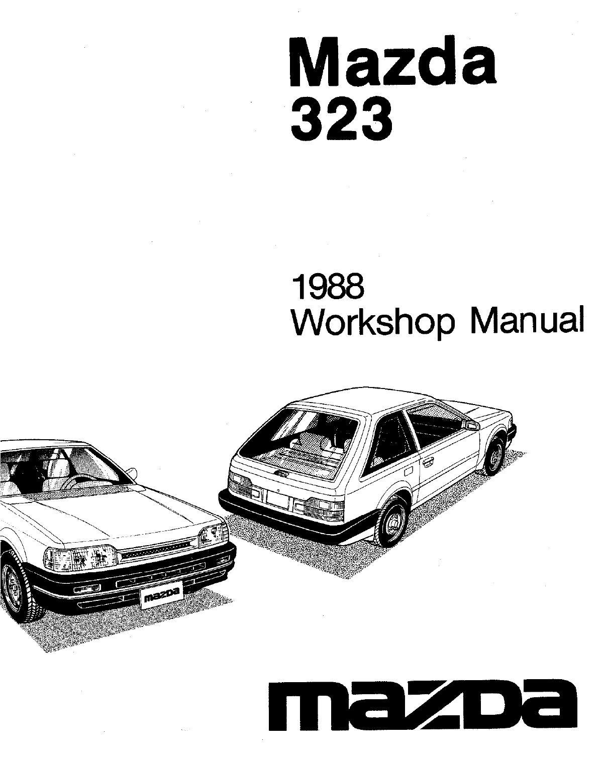 Mazda 323 1988 Workshop Manual PDF