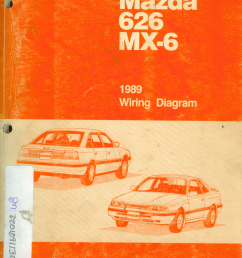 mazda 626 diagram [ 960 x 1278 Pixel ]