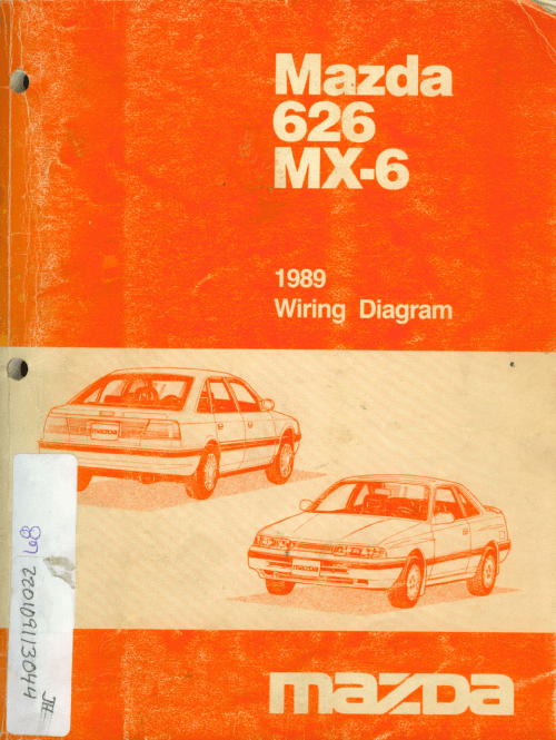 small resolution of mazda 626 diagram