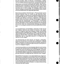 mazda mx 5 1993 misc documents wiring diagram spanish pdf [ 1182 x 1690 Pixel ]