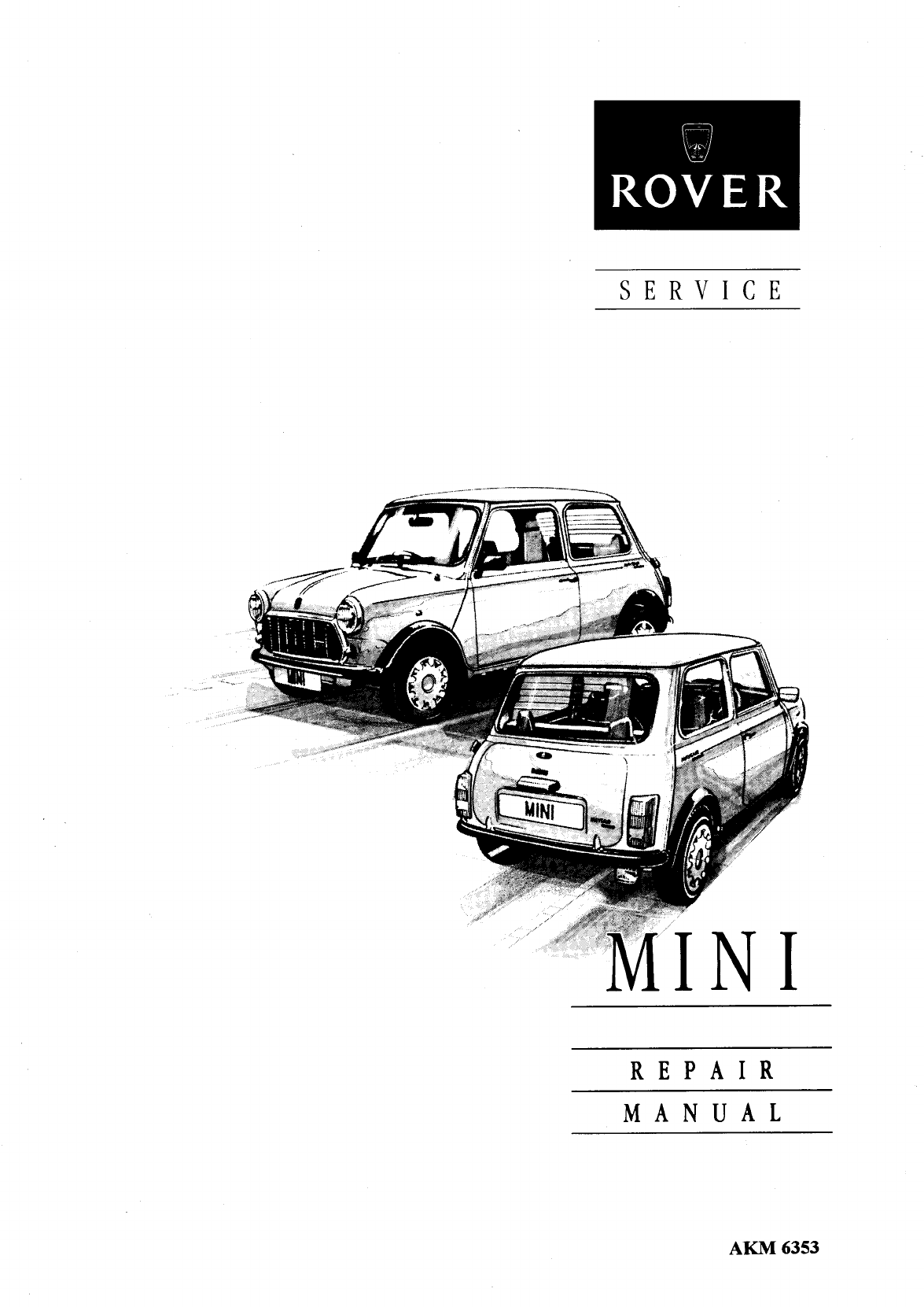 Mini Cooper Clubman 1976 1989 Workshop Manual PDF