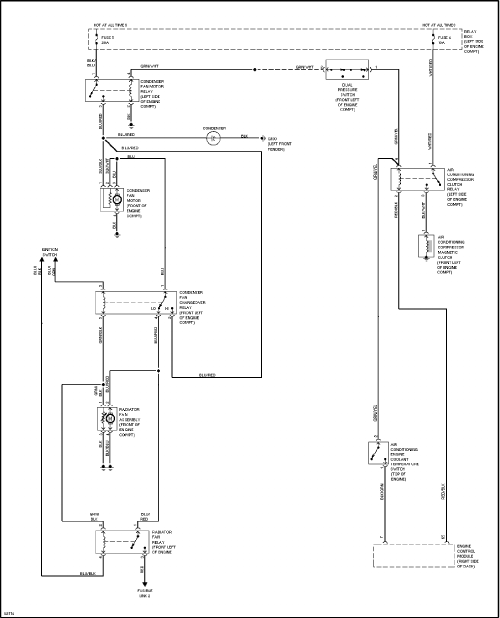 Montero Electric Fan Wiring Diagram - pm light tactical vehicles on